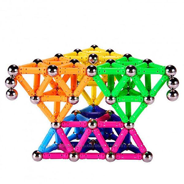 Магнитный конструктор на 100, 136, 188, 228 деталей Magnetix  100, 136,188