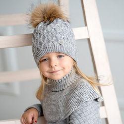 Зимние шапки для девочек DavidStar