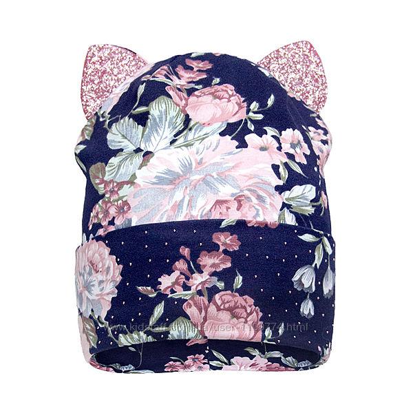 Демисезонные шапки для девочек David&acutes Star