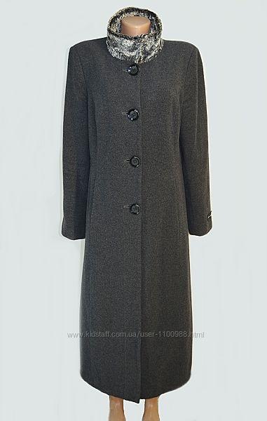 Длинное шерстяное пальто с кашемиром Debenhams