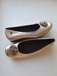 Туфли кожа Clarks р. 39, 5 стелька 26 см.