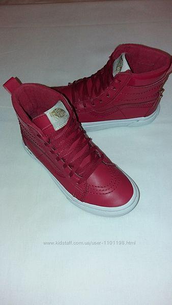 Ботинки кеды Vans р. 32, 5 стелька 20, 5 см.