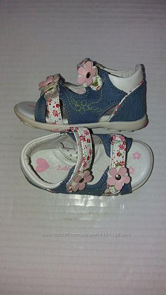Босоножки Bobbi shoes р.22 стелька 13,5 см.