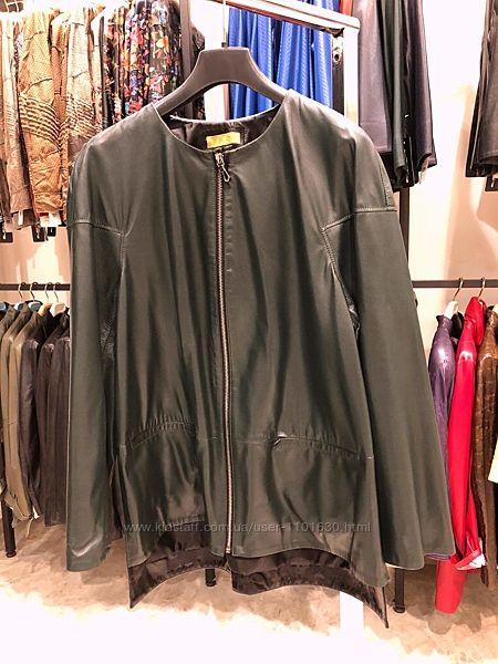 Кожаная куртка, большой размер, Турция5XL