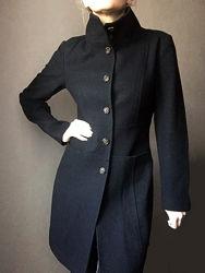 Фирменное пальто sisley шерсть вискоза демисезон s- m