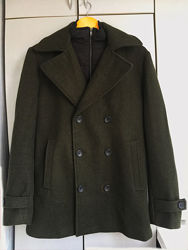 Брендовое пальто пиджак cedarwood state шерсть m