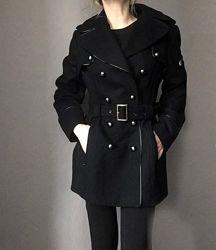 Роскошное брендовое пальто - платье miss sixty шерсть m-l