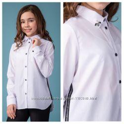 Школьная блузка Brilliant на девочку Рост 122- 170 Супер качество