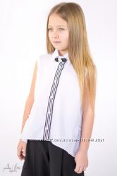 Школьная, нарядная блузка Размеры 122- 158 ТМ Albero Альберо