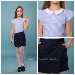 Стильные шорты, юбка- шорты для девочек Рры 122-170