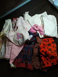 Пакет вещей на новорожденную