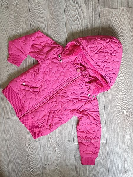 Курточка  демисезон Cool Club теплая для девочки 3 годика