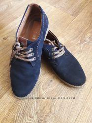 Туфли замшевые constanta 36 размер