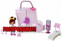 Kuu Kuu Набор мини кукла Куу Куу Харадзюку с домиком Музыкальный кошелек
