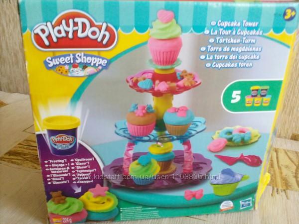 Play-Doh  Башня из кексов от hasbro   оригинал