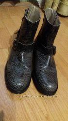 Ботинки кожа Испания