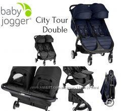 Прогулочная коляска для двойни Baby Jogger City Tour 2 Double, 2019