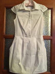 Великолепное белоснежное платьице  A. M. N. , Турция