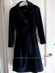 Статусное пальто-инвестиция monton, шерсть. р м. цвет благородный темно син