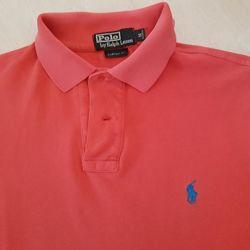 Футболка поло Polo Ralph Lauren оранжевое коралловый