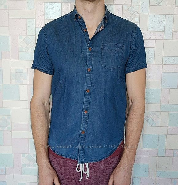 Джинсовая рубашка мужская Springfield