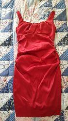 платье красное, сукня вечірня