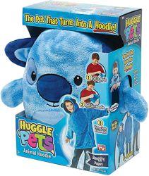 Huggle Pets Худи толстовка подушка - игрушка кофта трансформер