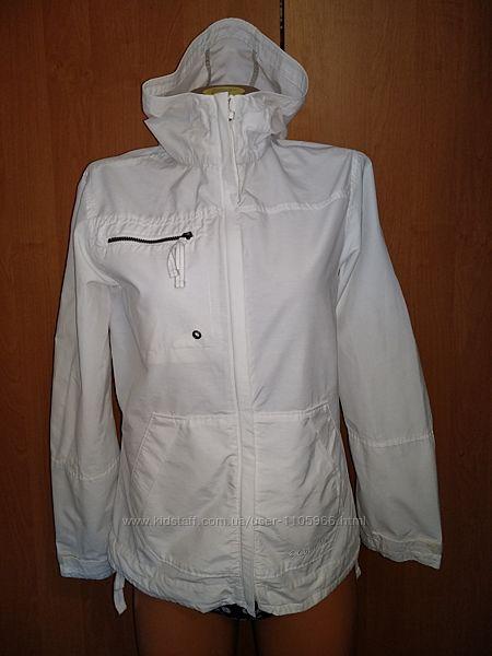 Крутая котоновая куртка ветровка хлопок Columbia Пог 50 см