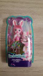 Кукла Enchantimals кролик бри mattel