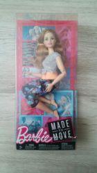 Кукла Barbie Двигайся как я made to move, FTG80