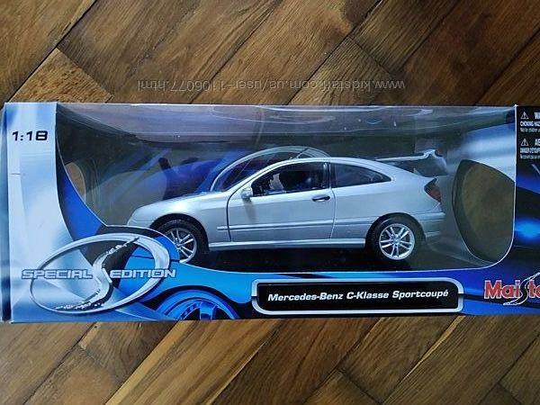 Mercedes - Benz C-Klasse Sportcoupe Maisto Маштаб 118