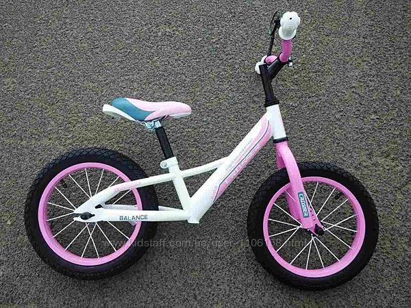 акция Беговел Кросер Баланс    16  дюймов детский велобег Crosser Balans