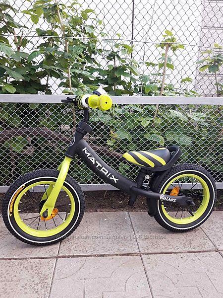 Тилли matrix 21259 велобег беговел детский с ручным тормозом tilly balance