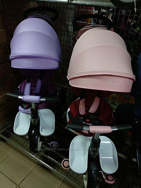 Кроссер Т 600 велосипед коляска детский трехколесный crosser roza
