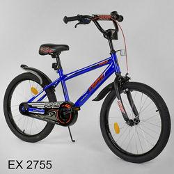 Corso EX 20 дюймов велосипед детский двухколесный Корсо