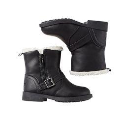 Демисезонные ботинки на флисе OSHKOSH