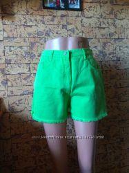 яркие джинсовые шорты - мом - Frontier - 46-48рр. - размер L