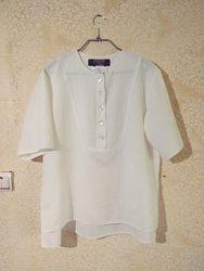 блуза рубашка льняная лён weekend max mara италия 46-48рр
