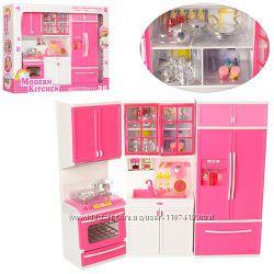 Кукольный домик - Кухня. Мебель для кукол Барби QF26210PW