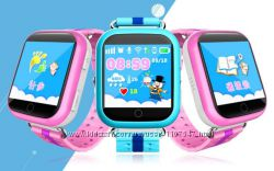 Детские умные смарт часы телефон Q750 Q100s GW200s Smart Watch Gps и Wi-Fi