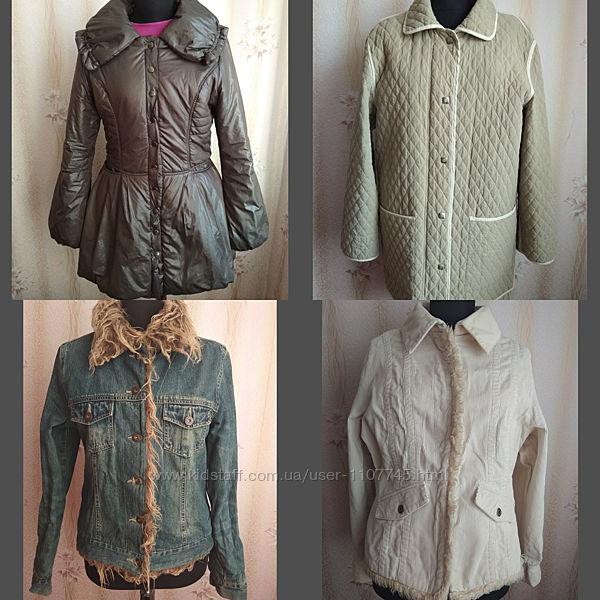Куртка женская деми р.46-48, 3 вида - с пышной юбкой, вельвет, джинс