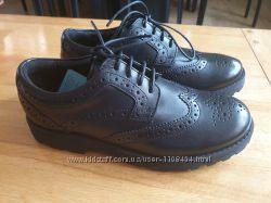 Кожаные туфли броги Marks&Spenser, оригинал, Англия