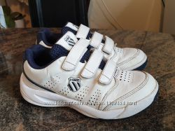 Кожаные кроссовки  K. Swiss на липучках, оригинал