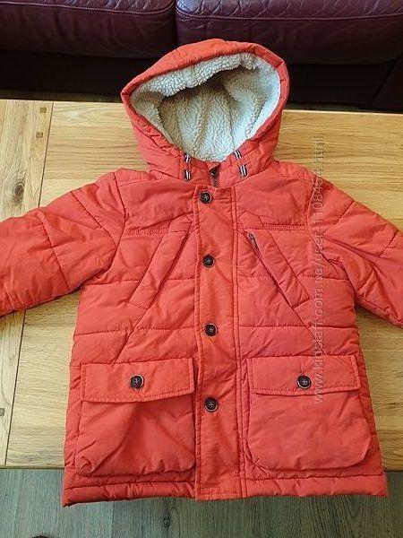Теплая зимняя куртка M&S, Оригинал