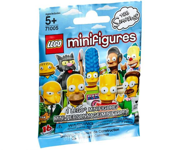 LEGO minifigures лего минифигурки Симпсоны 71005