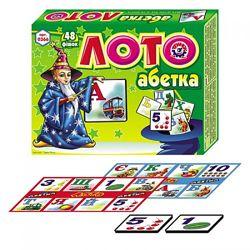 Лото Технок Абетка 48 фишек укр 0366