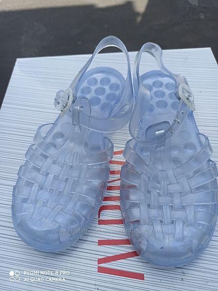 Босоножки сандалии мыльницы аквашузы желейки UK 1, eu 33