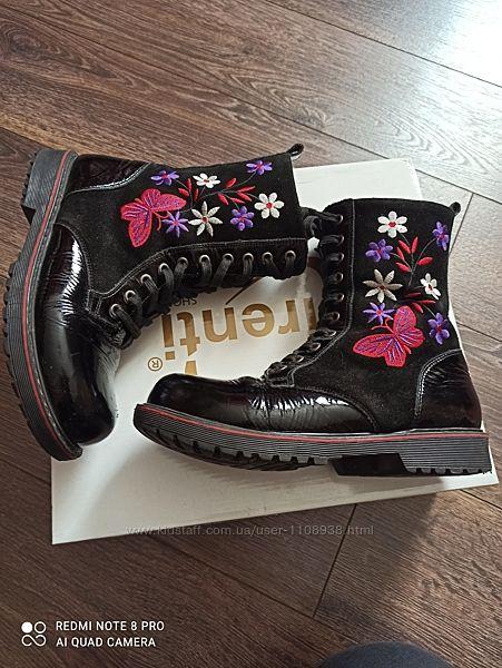 Зимние ботинки ортопедические