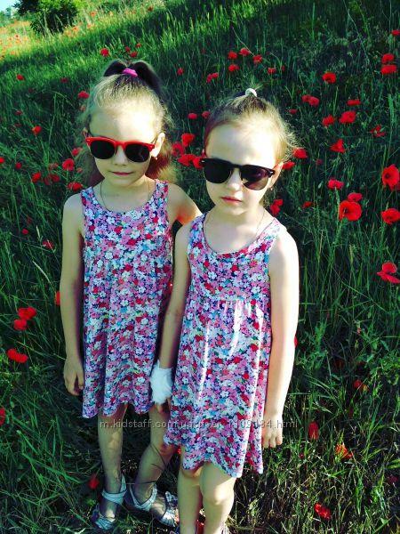 Сарафанчики H&M 2-4г для близняшек