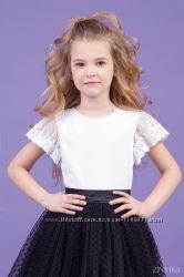 Трикотажная блузка с коротким рукавом ТМ Зиронька 26-9007